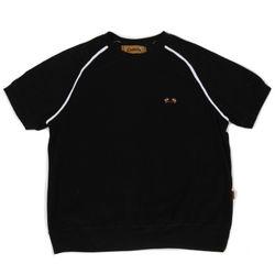Towel short sleeve crewneck(black)