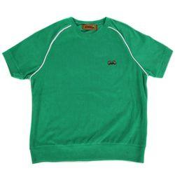 Towel short sleeve crewneck(green)
