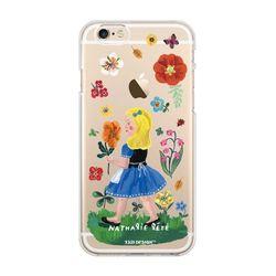 나탈리레테 케이스 노랑머리소녀 Iphone 6&6s