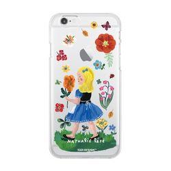 나탈리레테 케이스 노랑머리소녀 Iphone 6&6s plus