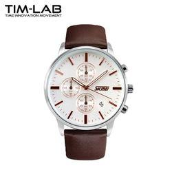 [TIM-LAB]남성 패션시계 어반 가죽시계 손목시계 9103