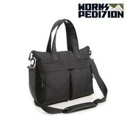 웍스페디션  - 인터라켄 노트북 가방(BLACK)