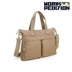 웍스페디션  - 인터라켄 노트북 가방(TAN)