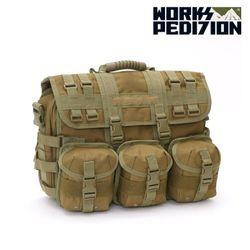 웍스페디션 - 제네바 전술 노트북 가방(TAN)