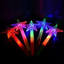 LED 레인보우별스틱 (퍼플)