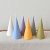 천연소이왁스 원뿔캔들 - 6colors