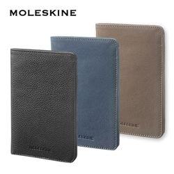 몰스킨 리니지 여권지갑 (블랙블루아비오로프브라운)