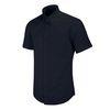 반팔슬림]블랙 솔리드 셔츠