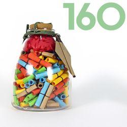 타임캡슐편지 160일 35오색편지 유리병편지