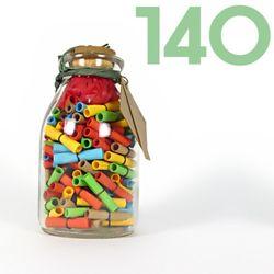 타임캡슐편지 140일 35오색편지 유리병편지