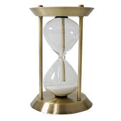 브론즈 철제 모래 시계 L - 30분