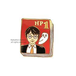 [Mybutton]BOOKPINS001 HP1.해리포터 북뱃지