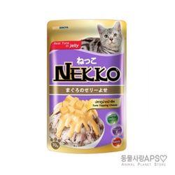 네코 참치토핑 치즈 파우치 70g