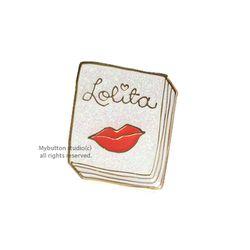 [Mybutton]BOOKPINS016 Lolita.로리타 북뱃지