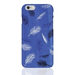 (Phone Case)  Blue Leaf