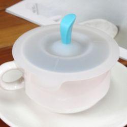 사과꼭지 실리콘 컵커버