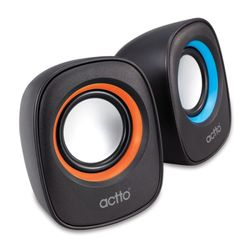 actto 엑토 딜라이트 2채널 PC 스피커 SPK-17