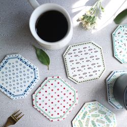 네이쳐 타일 코스터 (Nature Tile Coaster)