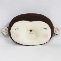 (DIY)스마일 원숭이 짱구배게 만들기-솜포함