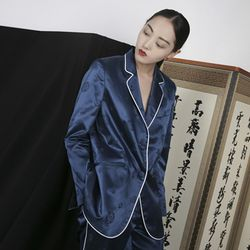 HANBOK PIPNG JACKET BLUE