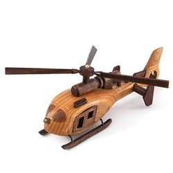 원목 헬리콥터 D