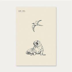 자연동화 포스트카드