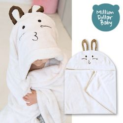 베이비 후드타올 토끼(신생아목욕타올 비치가운 담요)
