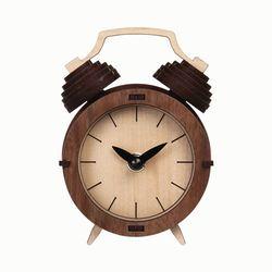[WOODSUM] 레트로 클래식 시계