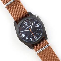 NaturalPark Camper with nato strap NP1312-AB-NTC