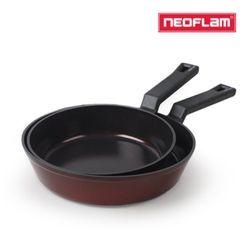 네오플램 프리미엄 IH 후라이팬 2종(24+28cm)