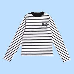 [Holiday Collection] BEAR BOW LS TSHIRT