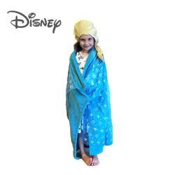 [Disney] 디즈니 겨울왕국 엘사 후드 담요