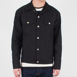 RAIN COTTON TRUCKER JACKET