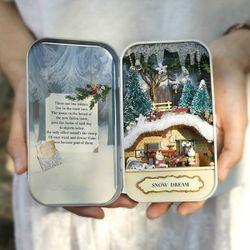 [adico]DIY 미니어처 드림박스 - 크리스마스 인형