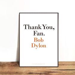 BOB DYLAN [330x430mm]