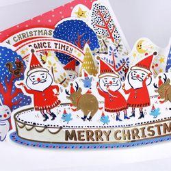씰룩셀룩 흥부자들 크리스마스 팝업  (030-CM-0024P)