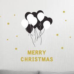 크리스마스풍선-S(골드)