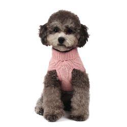 Lambswool Turtleneck Sweater (Pink)