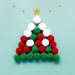 크리스마스 뽀송 폼폼 30p