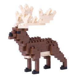 [카와다/나노블럭]NBC-187 큰뿔사슴