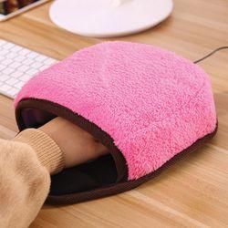 빅포켓 USB 온열 마우스 패드   손목쿠션