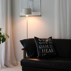 Modern Boy Square Floor Lamp [그레이베이지]