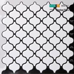 [보닥타일]손쉽게 붙이는 보닥타일 다마스크 화이트