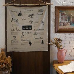 잼머 2017 린넨달력 : JAMMER linen calendar