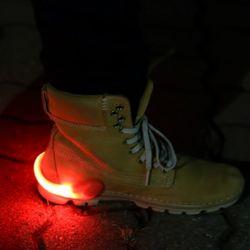 LED 슈즈 셔플클립 (레드)