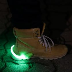 LED 슈즈 셔플클립 (그린)