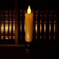 LED 앤틱 건전지촛불 (Thick 촛대)