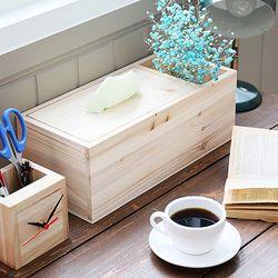 티슈케이스와 수납꽂이 DIY 생활소가구