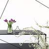 Nude Vase (H150) + Glass Vase