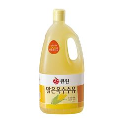 큐원 옥배유(옥수수유)맑은옥수수유 1.8L